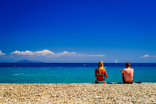 couple vs the big blue | by Spiros Vathis