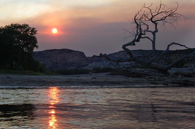 Yampa River Sunset