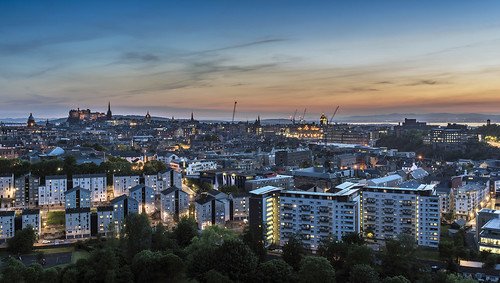 20150611 Edinburgh City Dusk | by chrism_scotland (Chris Mitchell Photography)