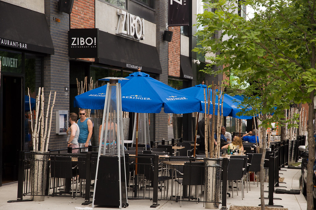 Zibo Terrasse Eating Out In Griffintown Caribb Flickr