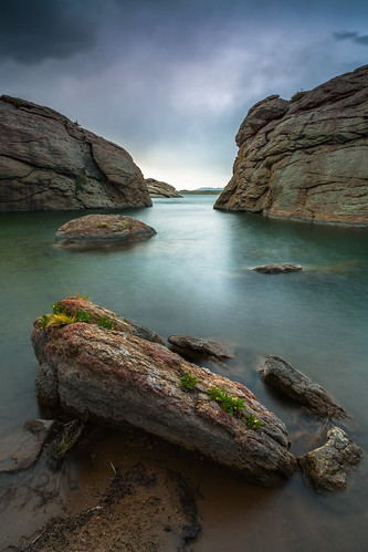 longexposure sunset color water landscape colorado rocks angle wide density neutral coloradostateparks 9nd elevenmilestatepark