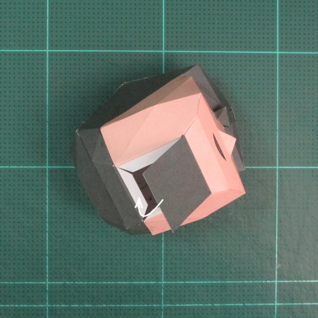 วิธีทำของเล่นโมเดลกระดาษซุปเปอร์แมน (Chibi Superman  Papercraft Model) 019