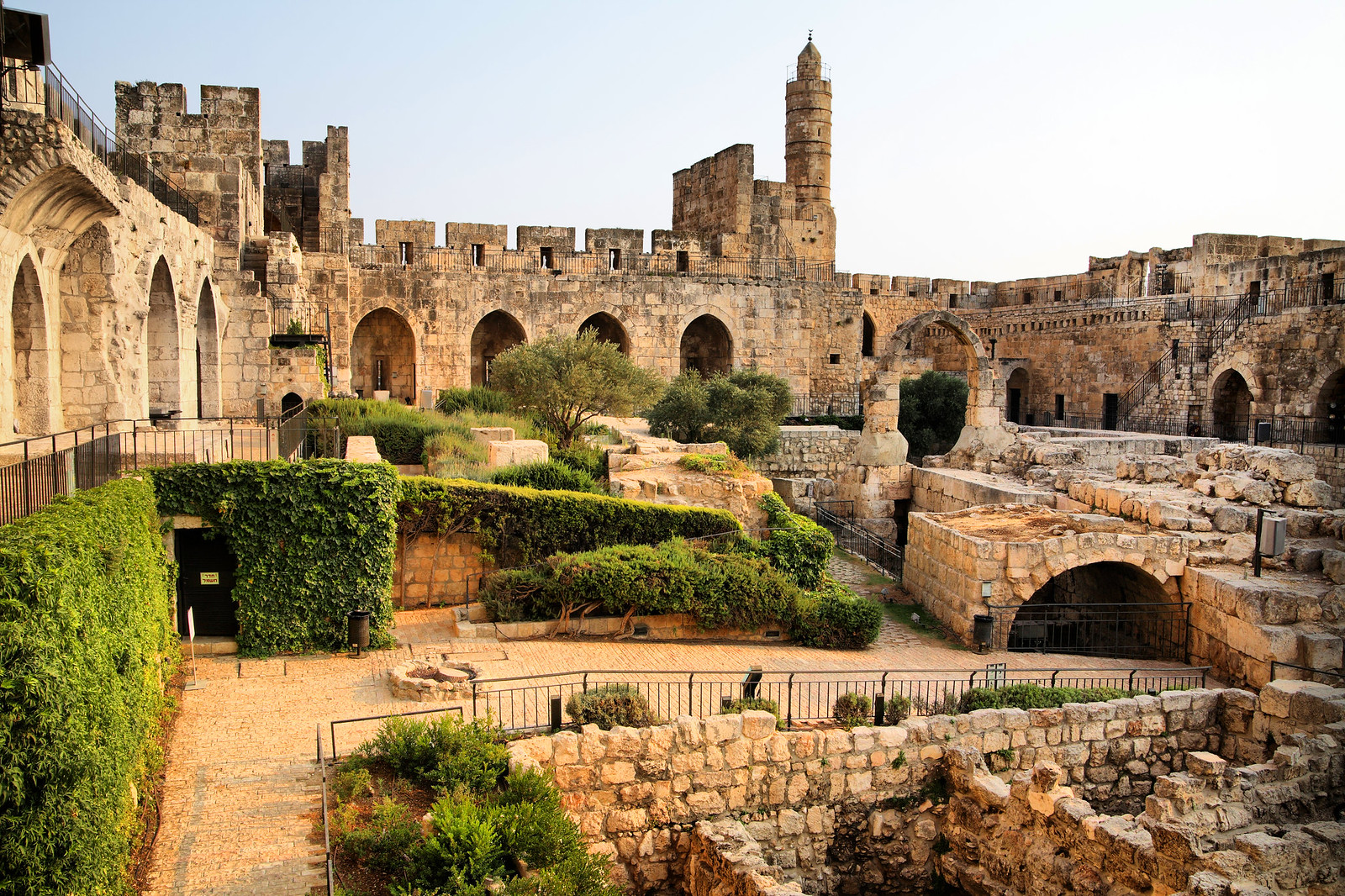 Jerusalem_The Tower of David_Site and Museum_2_Noam Chen_IMOT