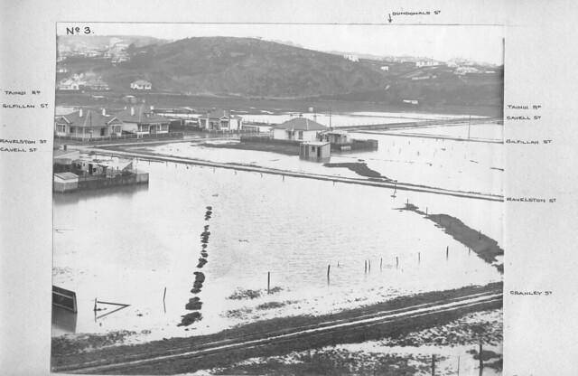 Floods in Tainui 1917