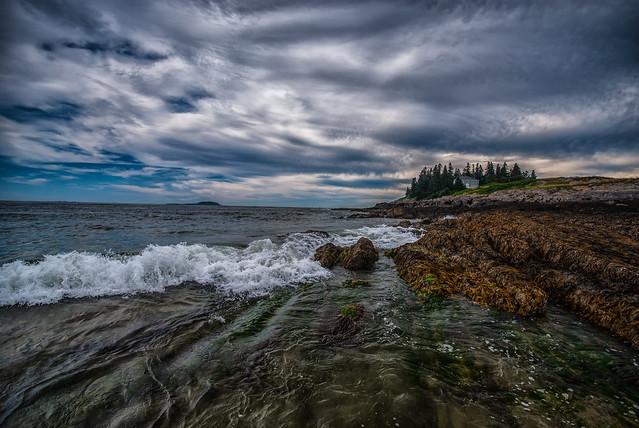Wood Island at Popham Beach, Maine