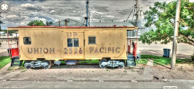 Google Street View - Pan-American Trek - Union Pacific 2526