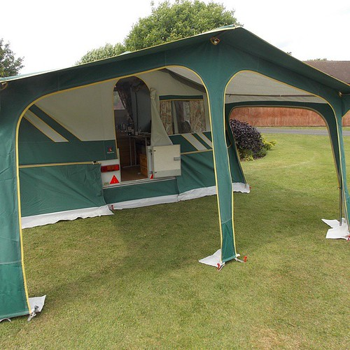 1998 Pennine Aztec with awning (no side panels) | Alan ...