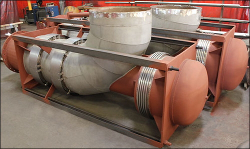 """32"""" Dia. Elbow Pressure Balanced Expansion Joint Designed for a Manufacturing Facility in Tenessee"""