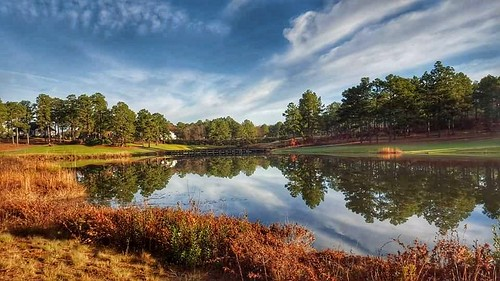 legacygolfclub reflections autumn golf sunny partlycloudy