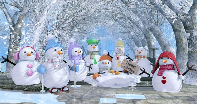 •625 SNOWMAN FAMILY