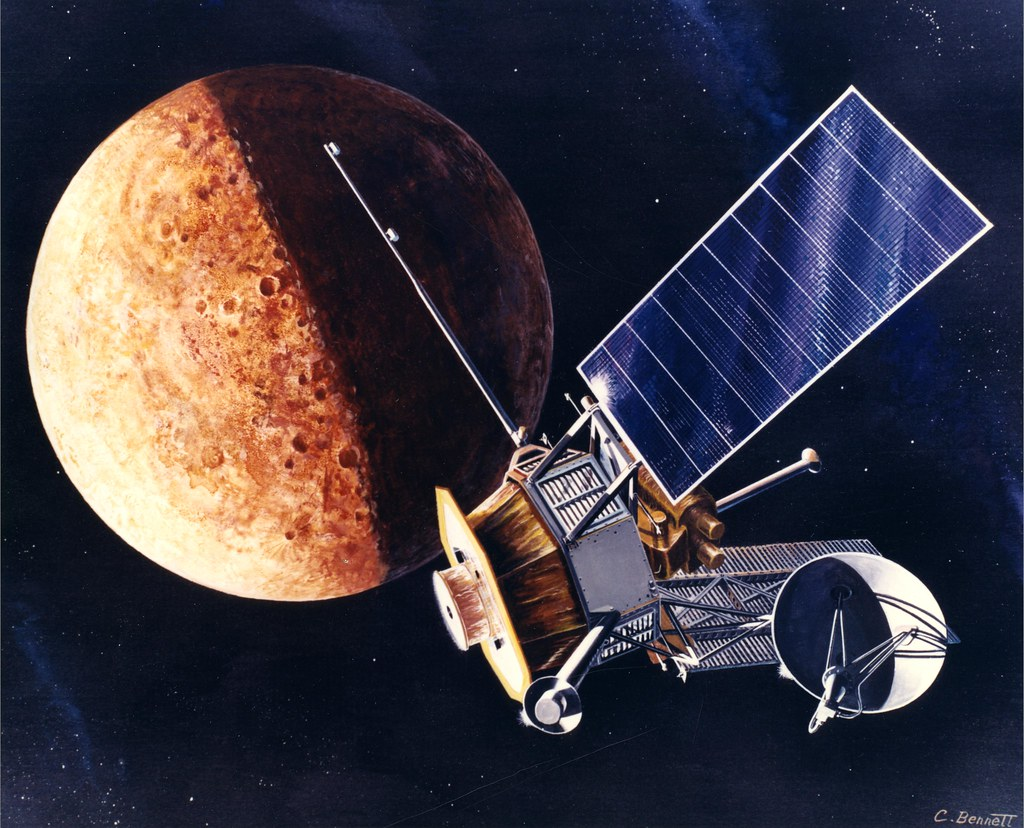 space probes of mercury - HD 1024×828