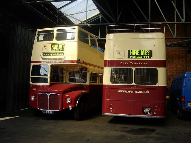 East Yorkshire - 0812 - ALM65B and 0202 - 202YTE - EYMS-Group20050007