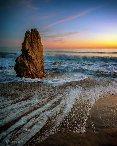 malibu sunrise beaches pacific westcoast losangeles california