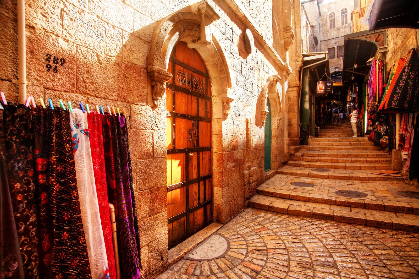 Jerusalem_Via Dolorosa_Station 6 (2)_Noam Chen_IMOT