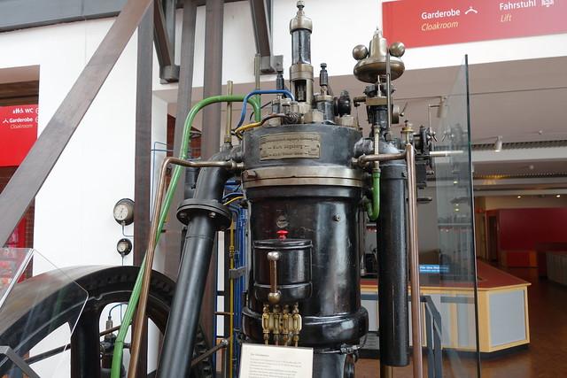 Early Diesel Machine