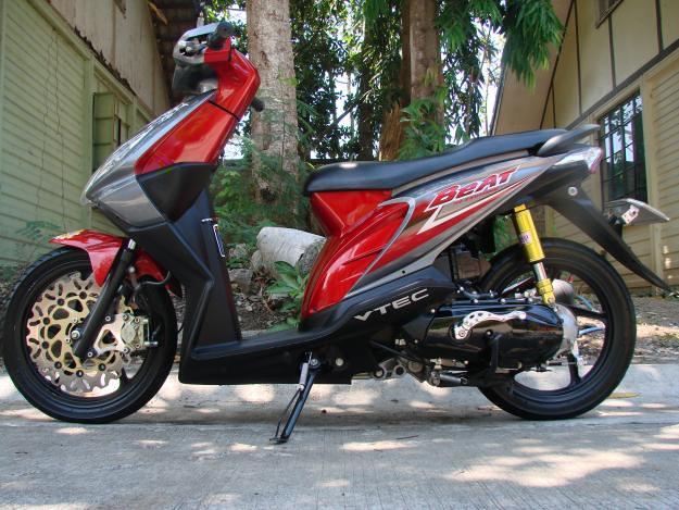 Modifikasi Honda Beat Full Fairing Modifikasi Honda Beat F