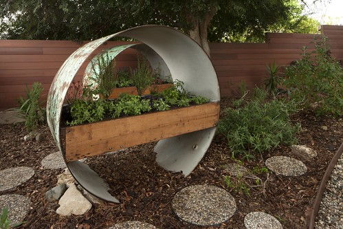 Recycled steel water tank | by Jeremy Levine Design