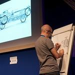 Joe Berger live drawing | Frank Cottrell Boyce & Joe Berger at The Edinburgh International Book Festival