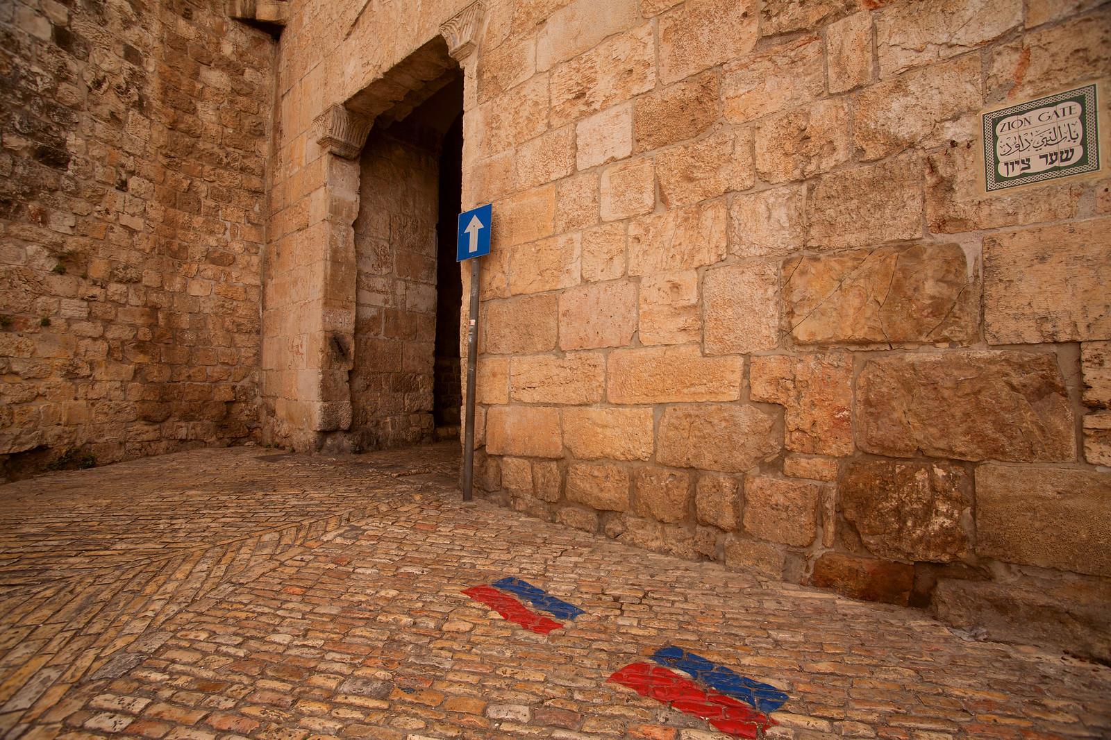 Jerusalem_Old City_Zion Gate_ Sha'ar Tzion_2_Noam Chen_IMOT