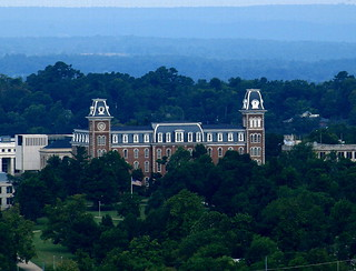 Old Main (1871) - Original Building of University of Arkansas Campus, Fayetteville, Arkansas | by danjdavis