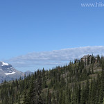 Granite Park Chalet with Longfellow Peak