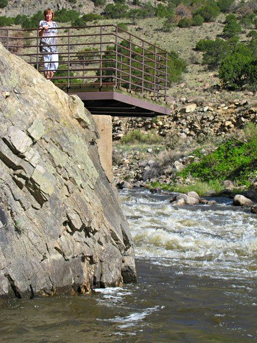 park rural river carolyn colorado overlook arkansasriver bighornsheepcanyon