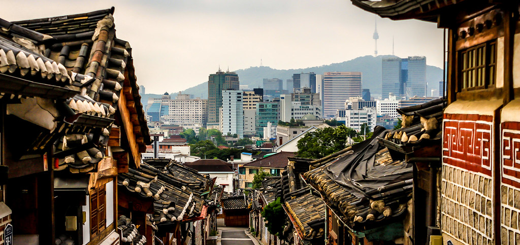 Bukchon Hanok Village, Seoul, South Korea | Doug Sun Beams | Flickr