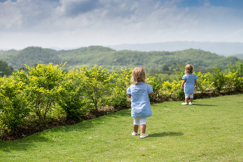 Girls Checking Out the Jamaican View   by donnierayjones