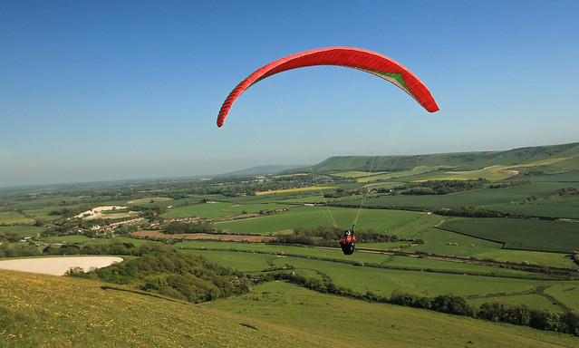 Paragliding South Downs