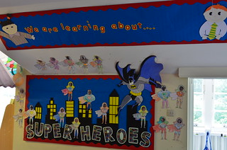 Year 1 display board