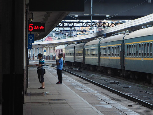 Station stop at Harbin | by Clay Gilliland