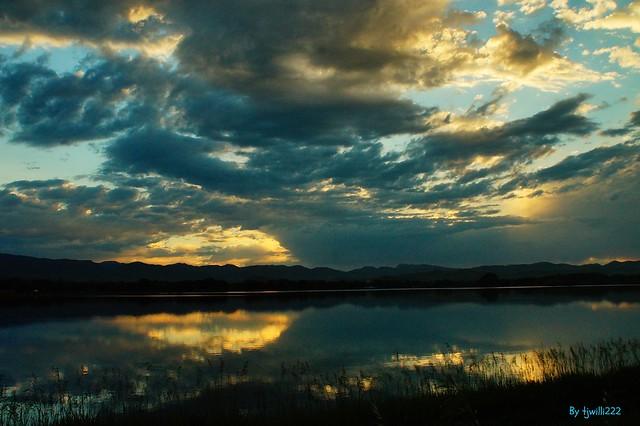 Terry Lake Sunset_02942