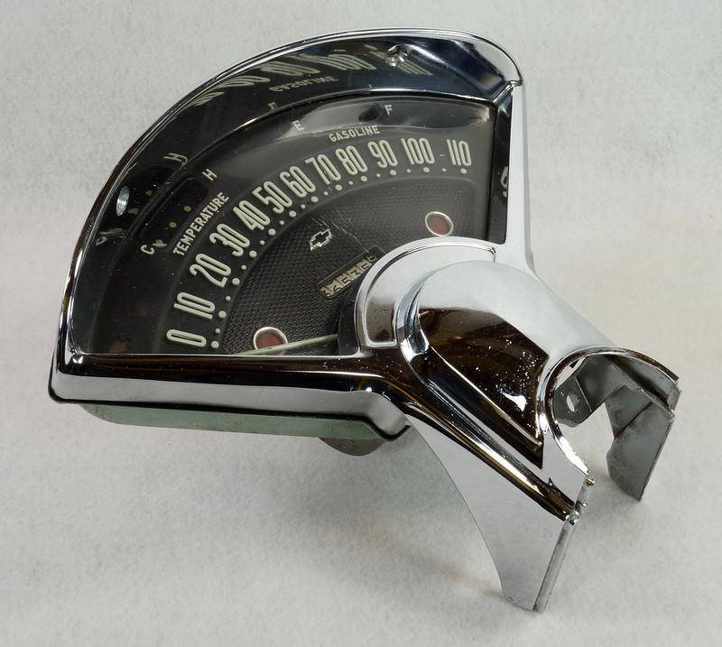 1956 Chevy Instrument Cluster