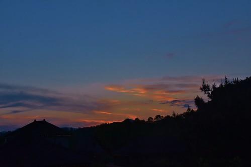sunset clouds sky northcarolina asheville biltmoreestate hotel stevelamb nikon d7200