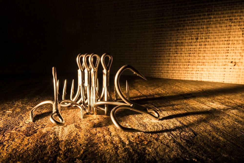 Owner Hooks, studio shot | Hooks are quite a boring subject