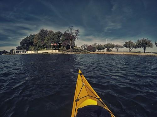 gopro watersedgekayakclub severnriver kayak water chesapeakebay fall nikcolorefexpro4