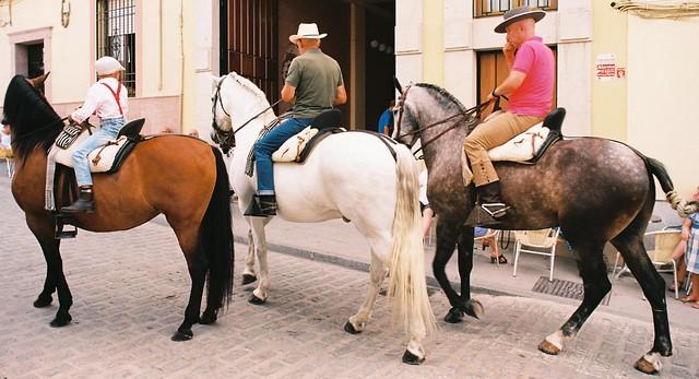 14a Men and boy on horseback, Archidona