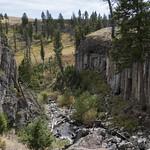 Blacktail Deer Creek through basalt columns