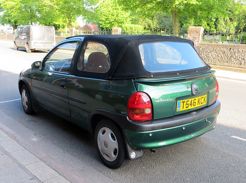 1999 Vauxhall Corsa 1.4i Cabriolet | by Spottedlaurel