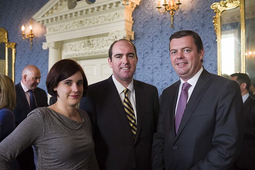 Anne Whelton, Business & Finance; Eoin Houlihan, NGA Human Resources; Paul Acton, SAS