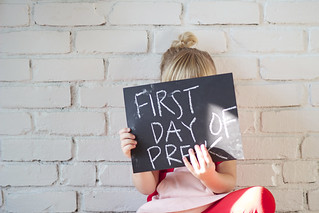 first day of pre-k | by modernmegpie