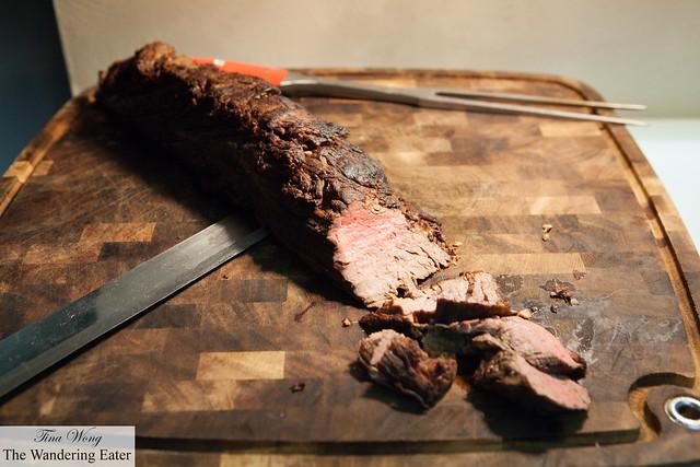 Creekstone Farms Angus roasted filet mignon