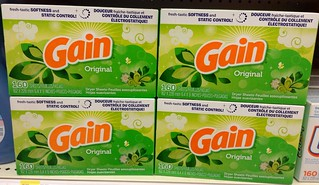 Gain Dryer Sheets, Original Scent 9/2014 by Mike Mozart of TheToyChannel and JeepersMedia on YouTube #Gain