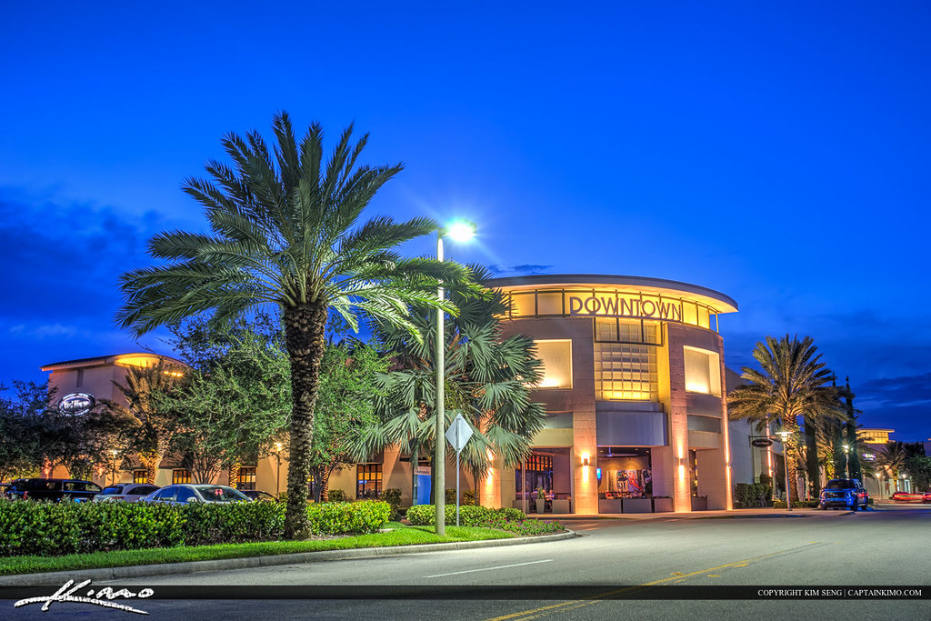 Palm Beach Gardens Florida Downtown Yard House Hdr Image T Flickr