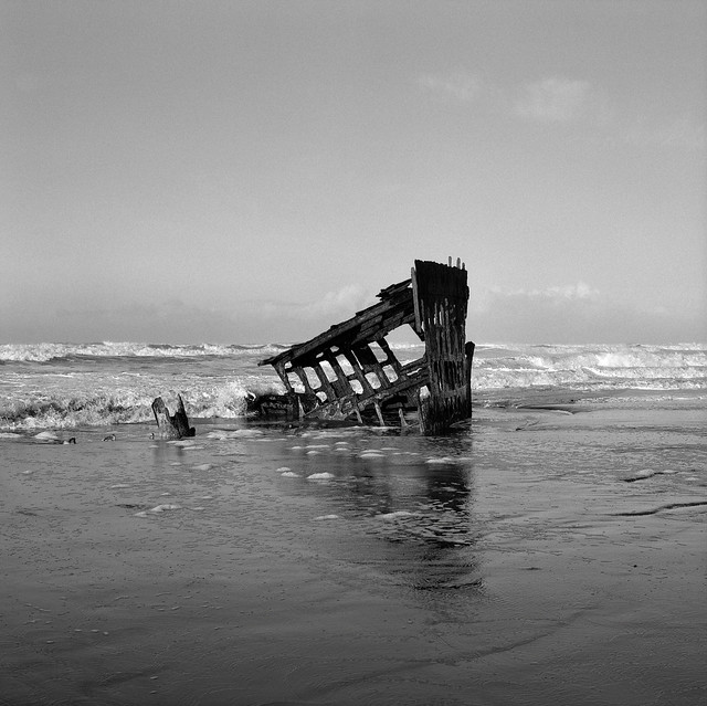 The Wreck of the Peter, Iredale, Oregon