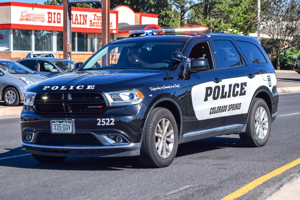 Colorado Springs Dodge >> Colorado Springs Police Unit 2522 Dodge Durango Kyler