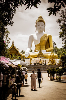 2014-05-25 Thailand Day 3, Wat Phrathat Doi Kham   by Qsimple, Memories For The Future Photography