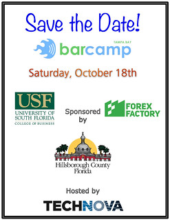 BarCamp Save The Date