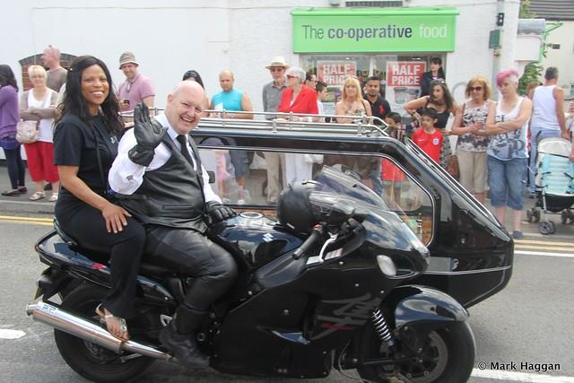 Motorbike funerals make an appearance