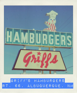 Griff's Hamburgers - Route 66, Albuquerque, New Mexico | by RoadTripMemories